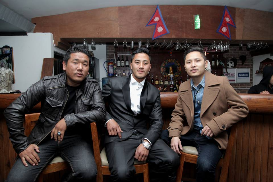 JHOLAY after party, Ashik Gurung and friends.