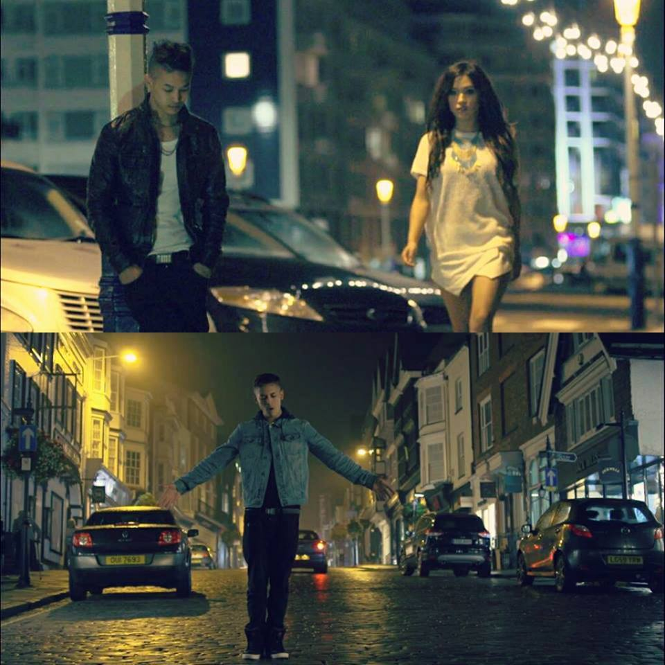 Stills from FALLING FOR YOU Music Video!