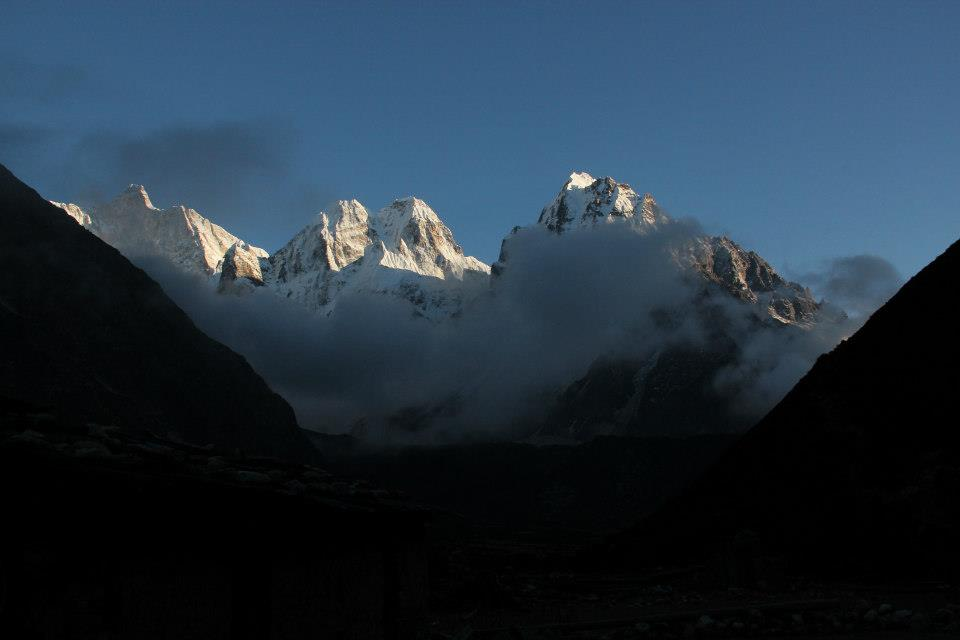 Jannu(7710m) is a captivating mountain of the region, only overshadowed in height by the Kanchenjunga peaks.