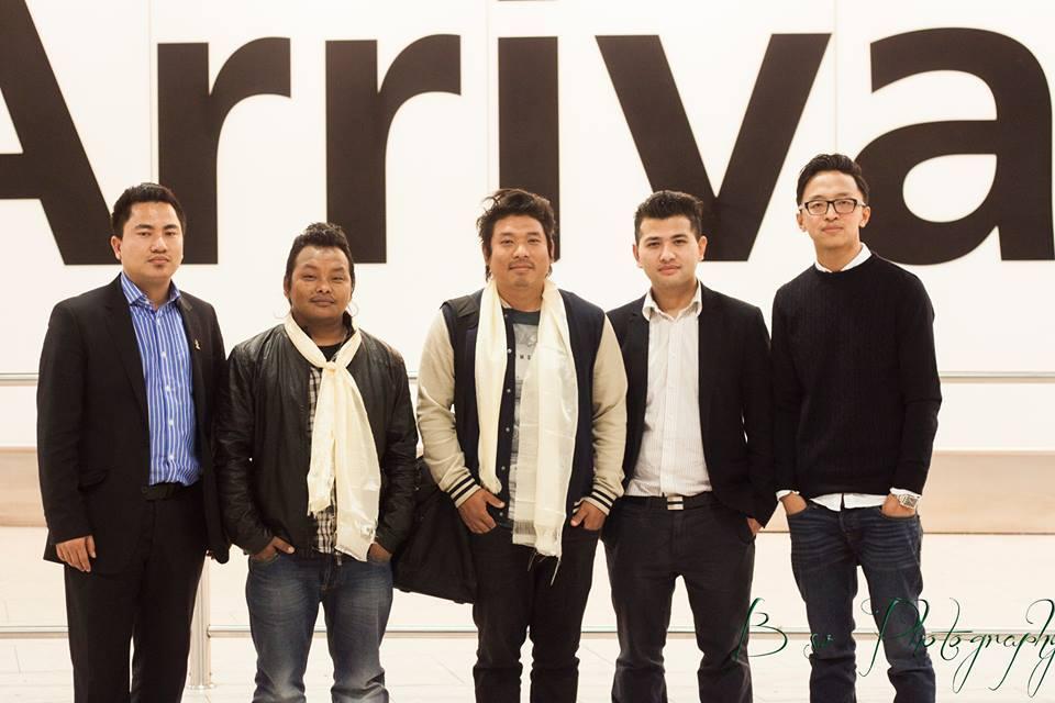 Jeewan Gurung UK Arrival 2