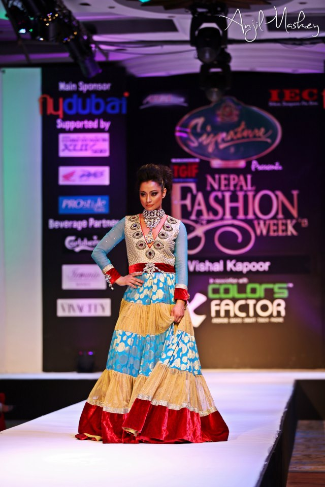 Jharana Bajracharya Nepal Fashion Week (1)