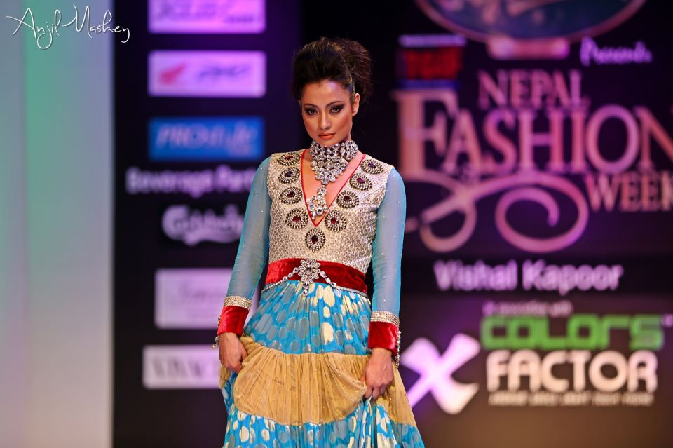 Jharana Bajracharya Nepal Fashion Week (3)