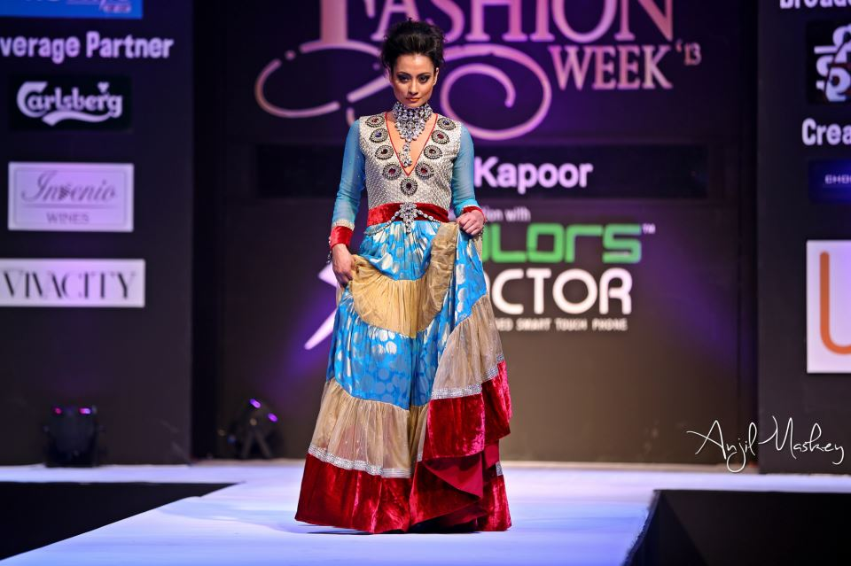 Jharana Bajracharya Nepal Fashion Week (4)