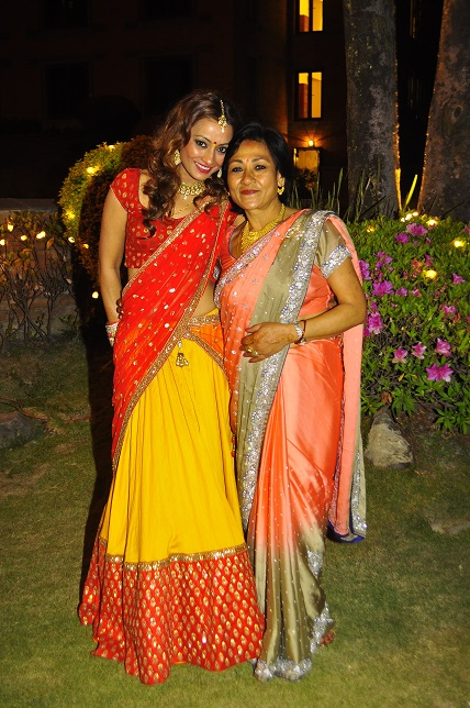 Jharana and her mother, Lalana
