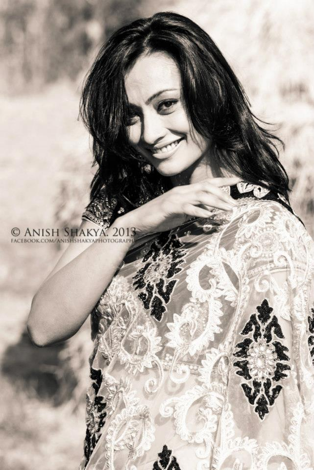 A recent photo by Anish Shakya for the Nari Diwas shoot
