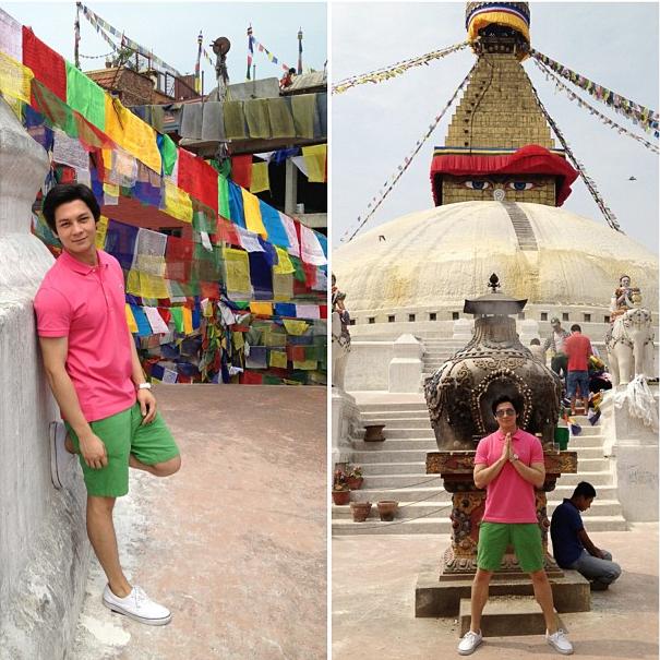 Joseph Marco Nepal Visit