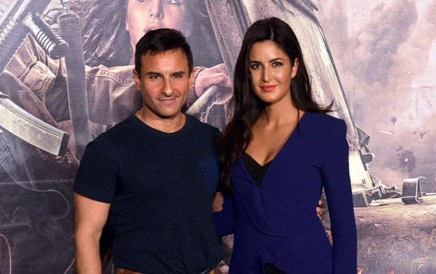 Saif Ali Khan and Katrina Kaif at PHANTOM Trailer Launch