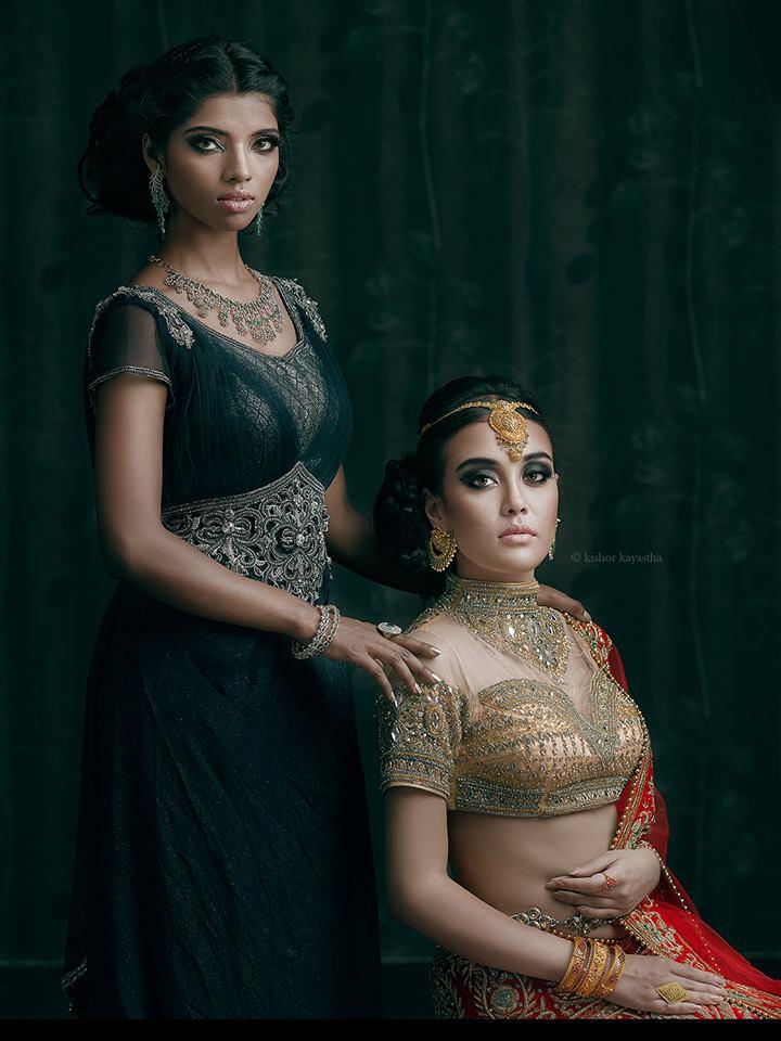 Namrata and Jyotsna.