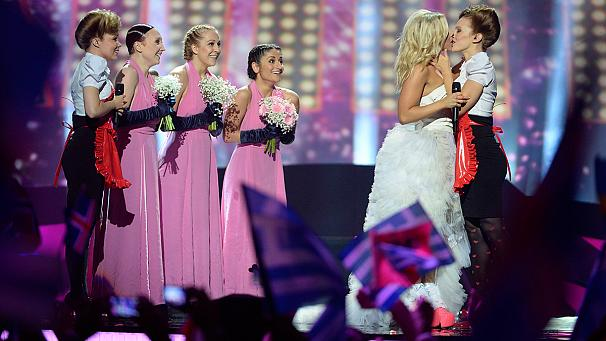 Krista's controversial Eurovision 2013 performance.