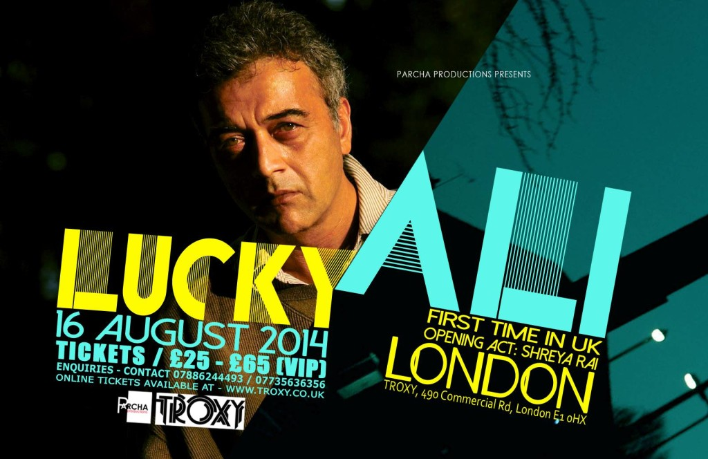 LUCKY ALI - LIVE IN LONDON