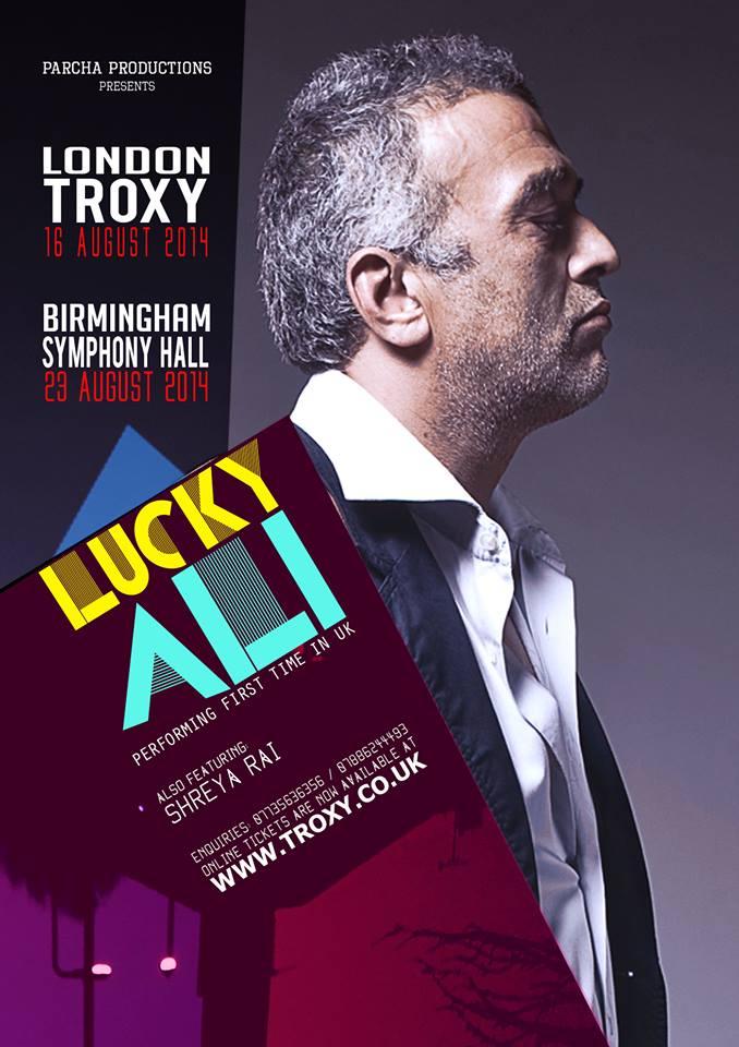LUCKY ALI in UK