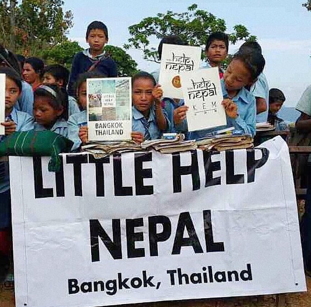 Little-Help-Nepal-ISSUE-Thailand