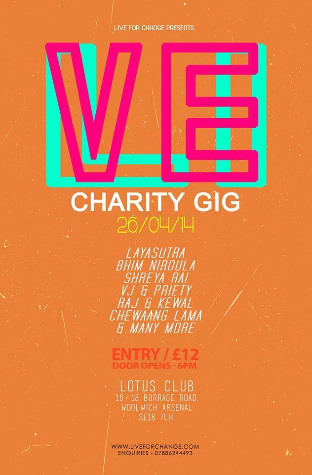 Live For Change Musical GIG