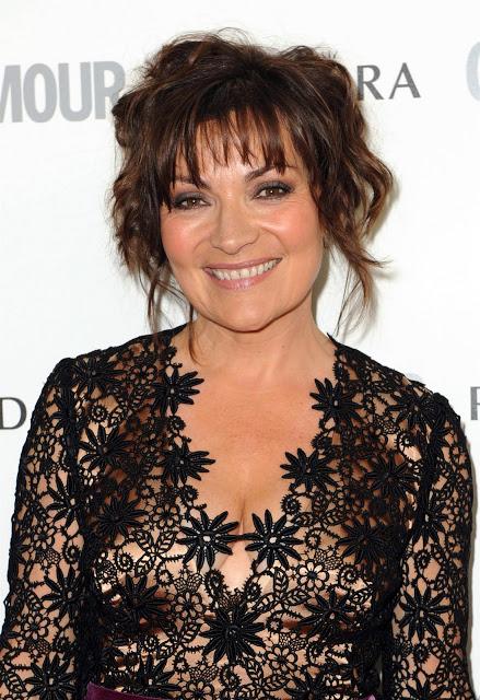 British TV Presenter Lorraine Kelly.