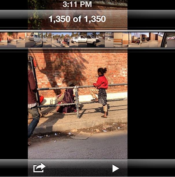 MIA (Instagram): This street girl in Nepal got the same steeeeeez