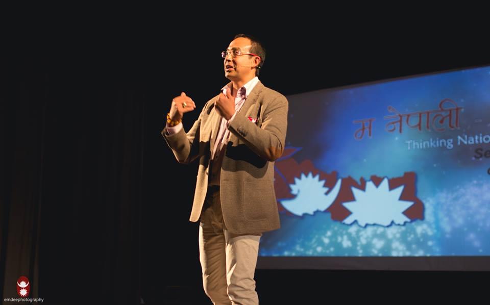 Anil Keshary Shah - Facilitator of the event