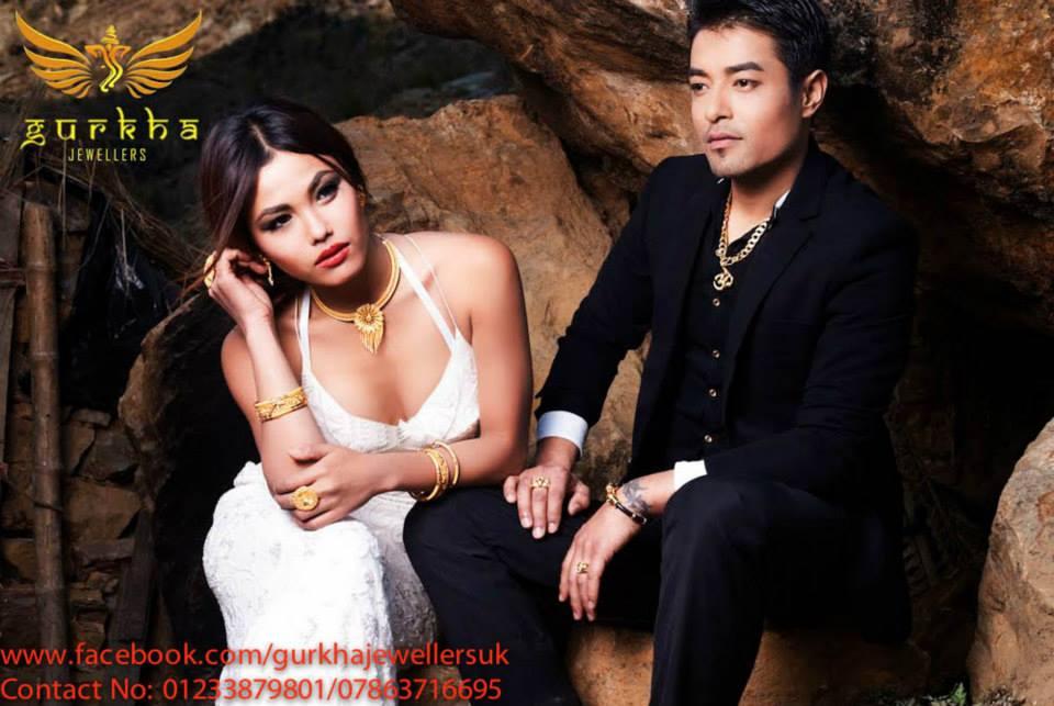 Mala Limbu with Diwas Tamang Shrestha