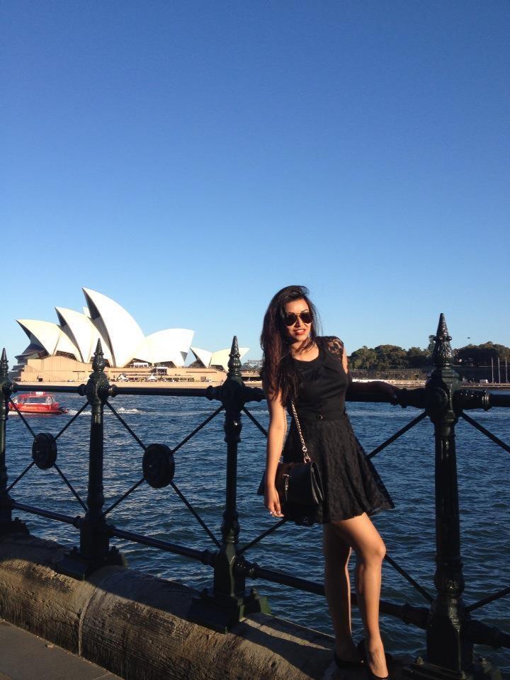 Malina Joshi in Sydney