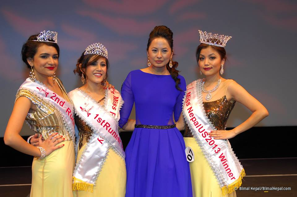Miss Nepal US 2013 Winners with Malvika Subba