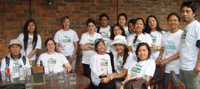 Maya Outreach for Macmillan Cancer Support, March 2013