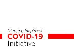 Merging NepSocs Covid-19 Initiative Poster