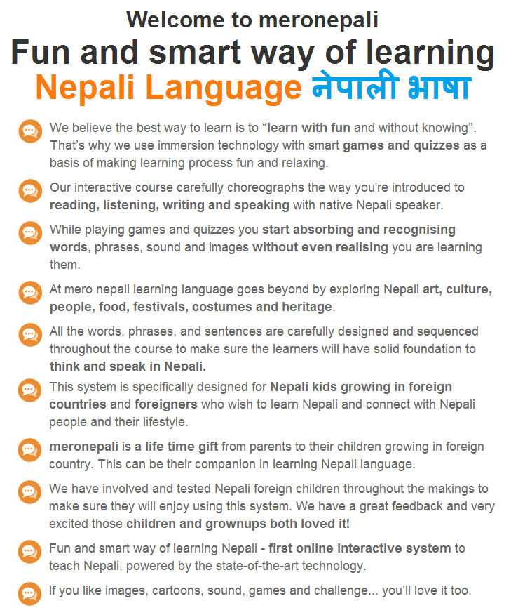 How to learn nepali language online