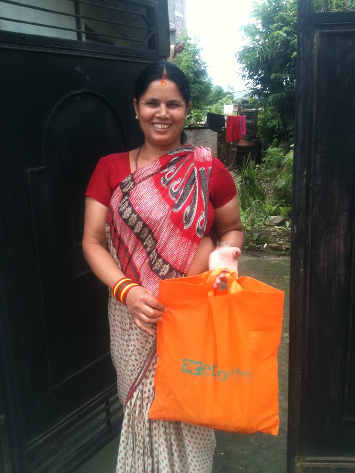 From UK to Banasthali - A Happy Customer