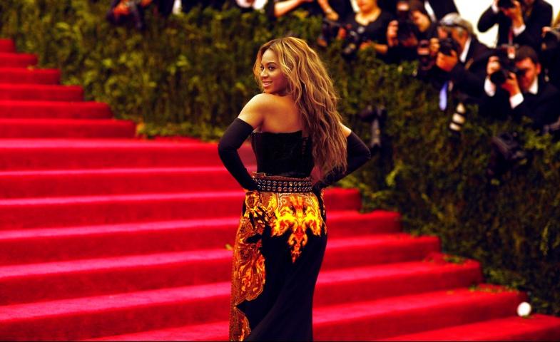 Beyonce. Photographed by Justin Bishop