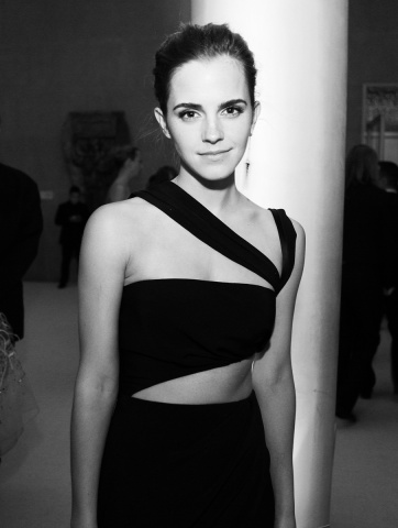 Emma Watson wearing Prabal Gurung. Photographed by Taylor Jewell