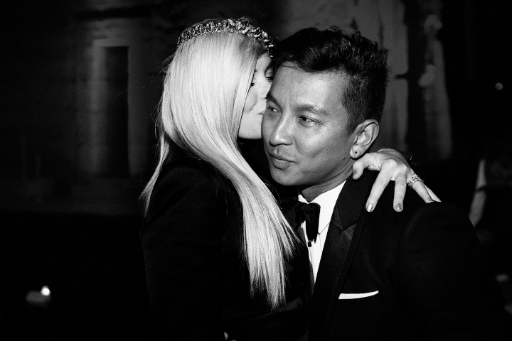 Jaime King and Prabal Gurung. Photographed by Pablo Frisk