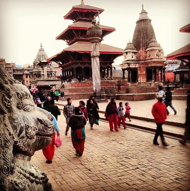 MIA (Instagram): New Year's Eve in Kathmandu