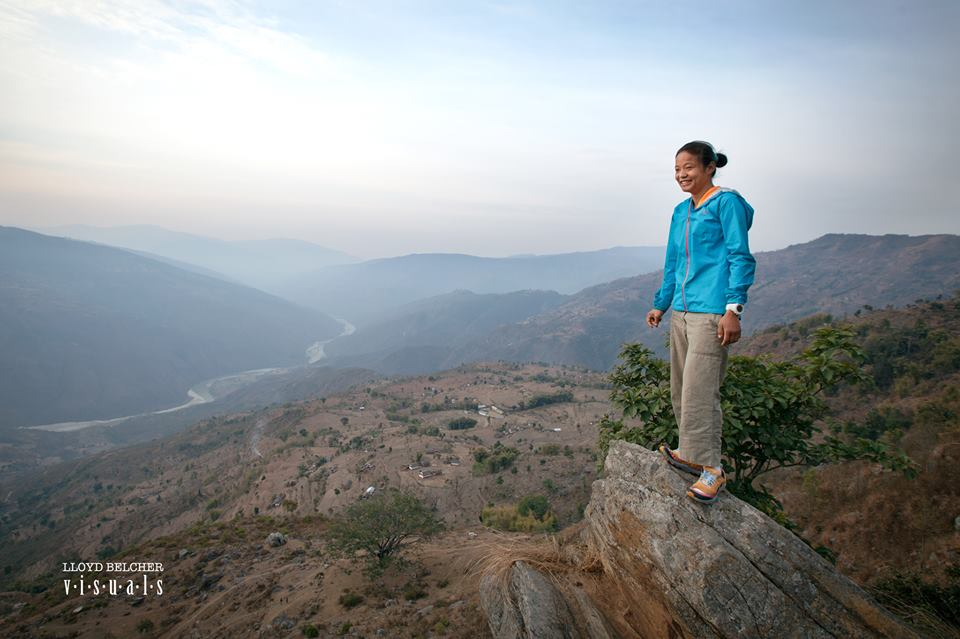 Mira Rai in Bhojpur. Photo: Lloyd Belcher