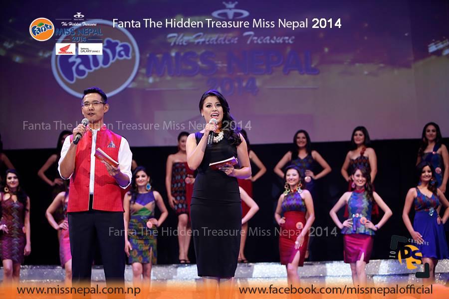 The Hosts - Alok Thapa and Supriya Tuladhar