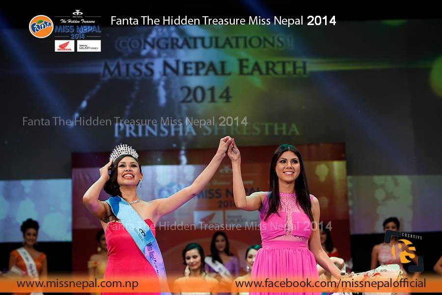 Prinsha Shrestha - Miss Nepal Earth