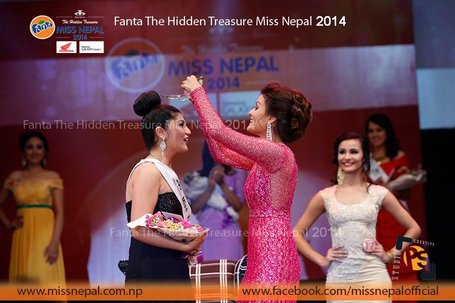 Sonie Rajbhandari - Miss Nepal International