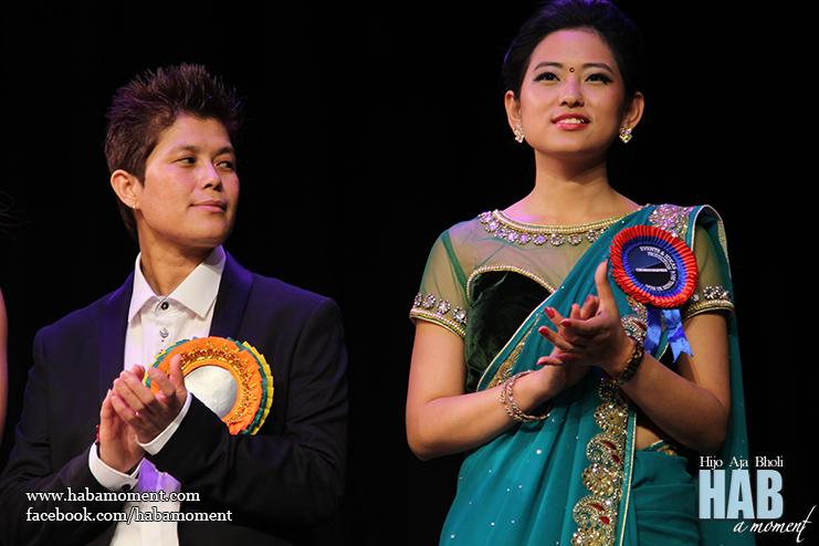 Shanti Gurung from Ideas & Events with Miss UK Nepal 2011 Gaumaya Gurung