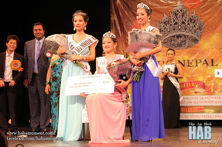 Miss UK Nepal 2014 Winners