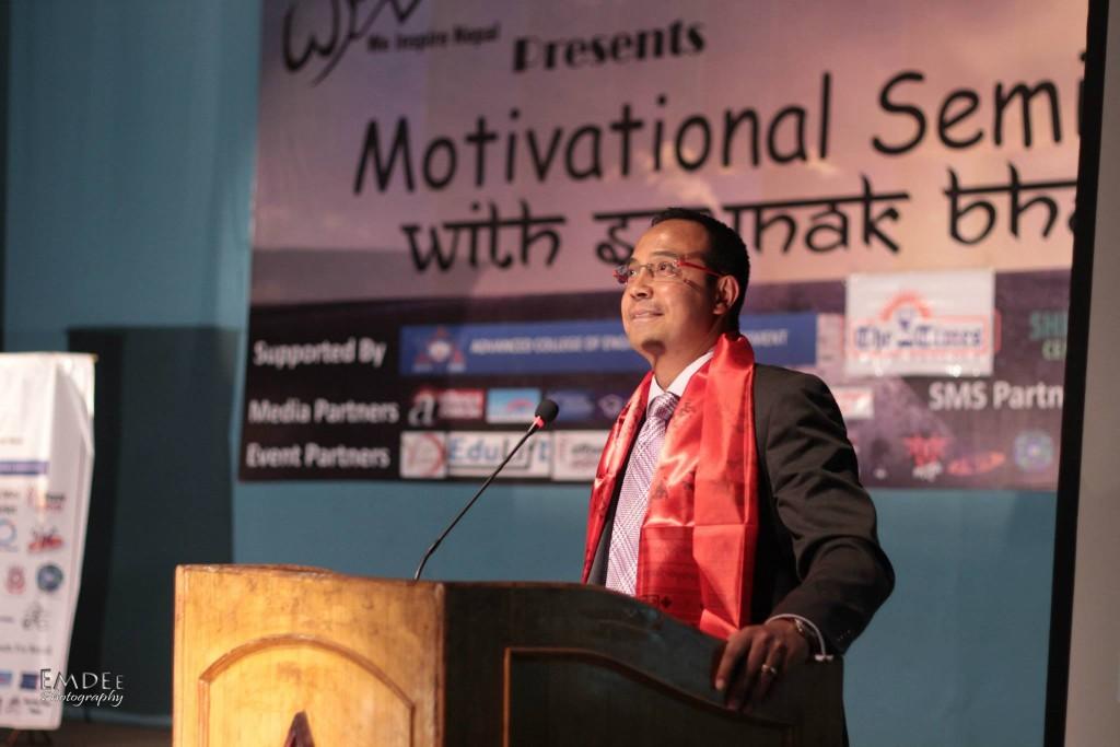 Chief Guest Anil Keshari Shah