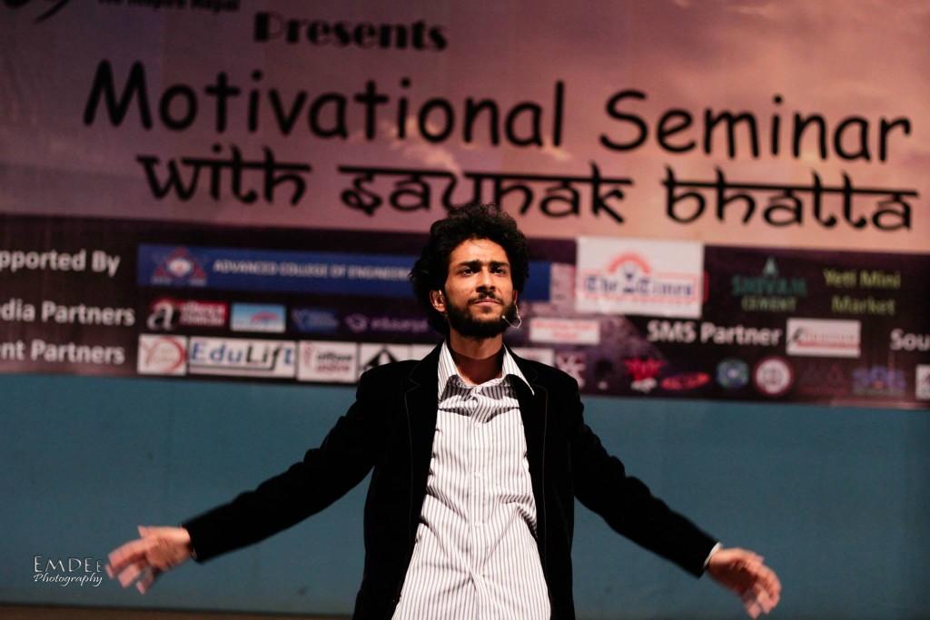 The Man Himself - Saunak Bhatta