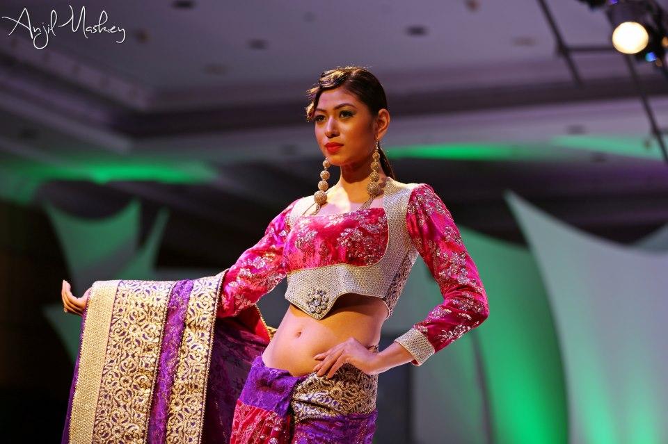 Nagma Shrestha Nepal Fashion Week