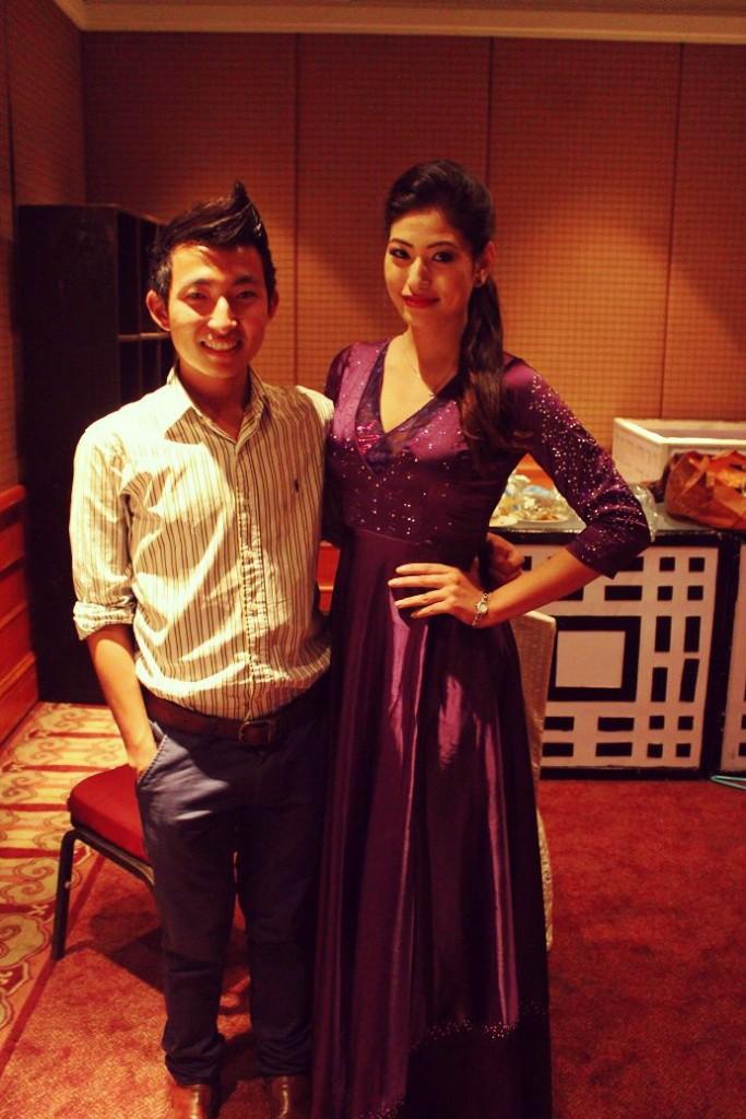 With Nagma!