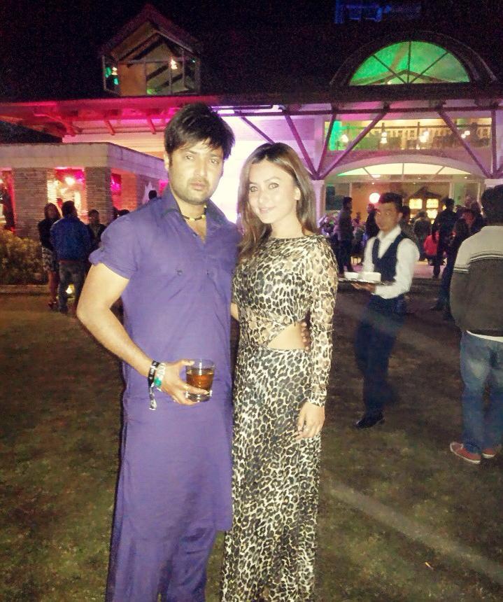 Namrata and Aryan Sigdel