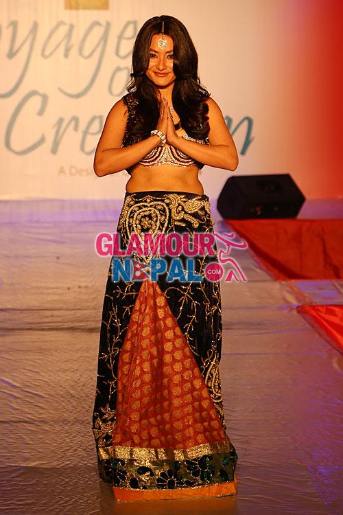 Namrata Shrestha Designer Contest 2014