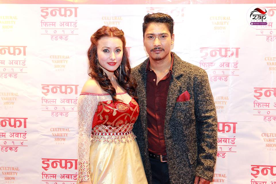 Saugat and Namrata!