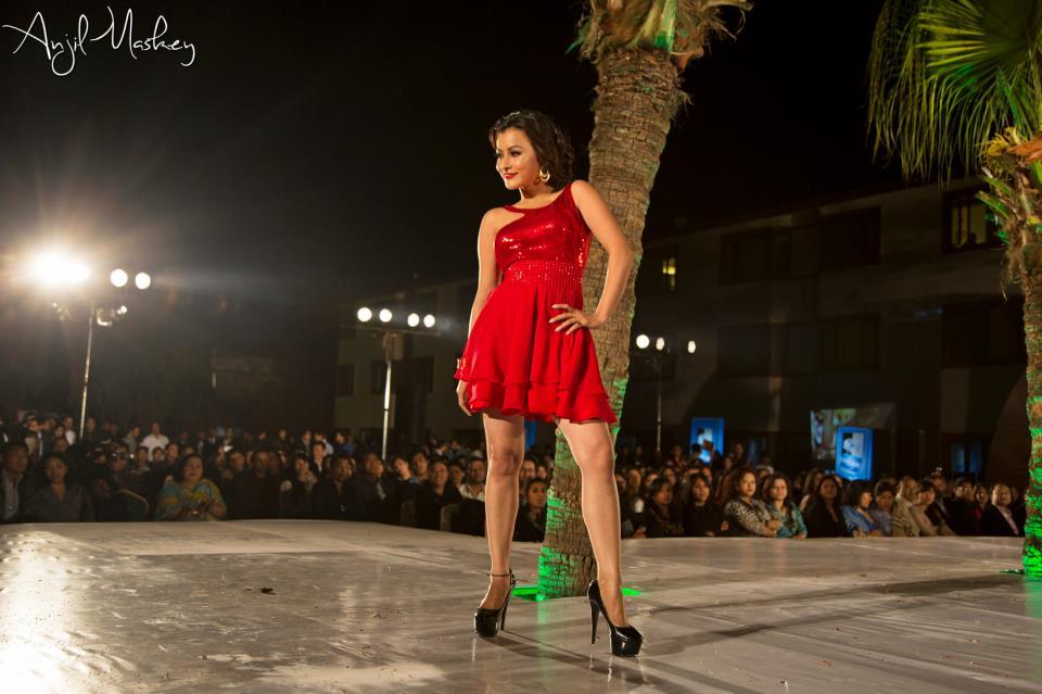Namrata Shrestha wearing GABI