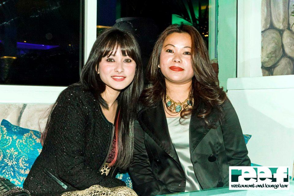 Actress Namrata Shrestha with Friend