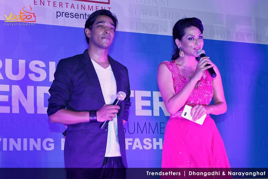 Sanjay & Sahana at TRENDSETTERS Narayanghat