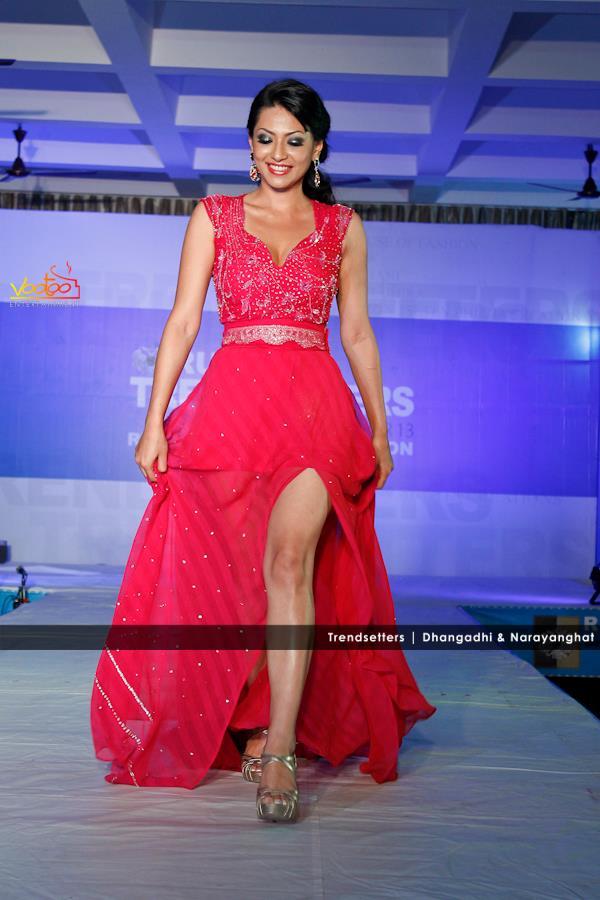 Sahana Bajracharya at TRENDSETTERS Narayanghat