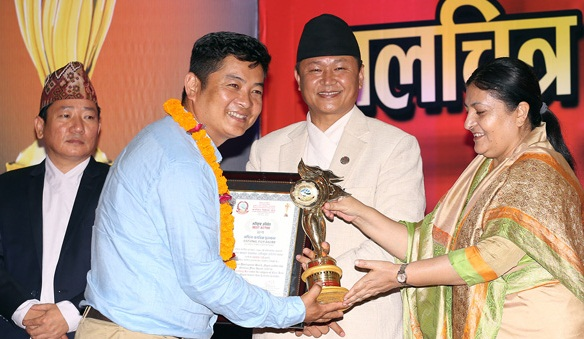 National-Film-Award-Nepal-2016-Dayahang-Rai