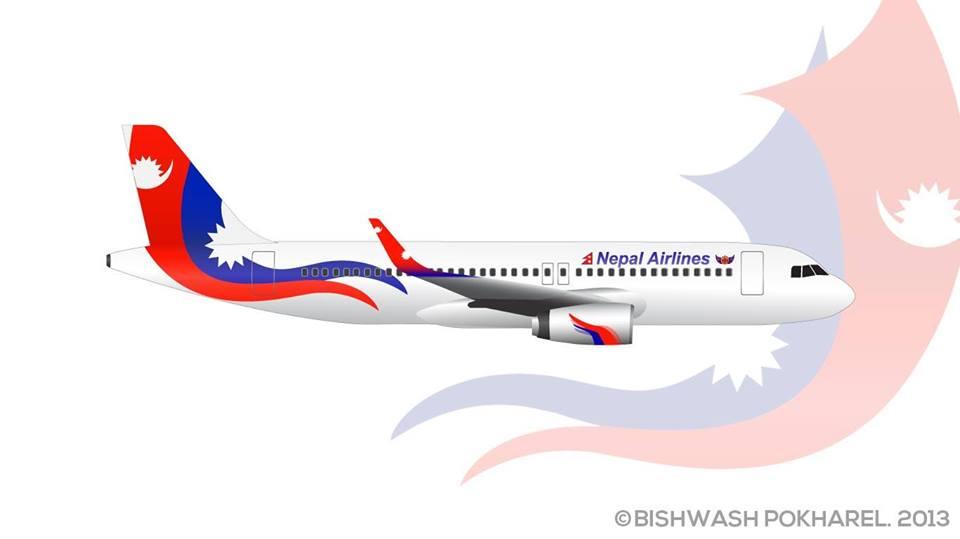 Airline Livery Design by Bishwash Pokharel